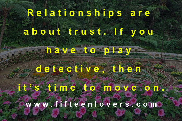 relationship about trust